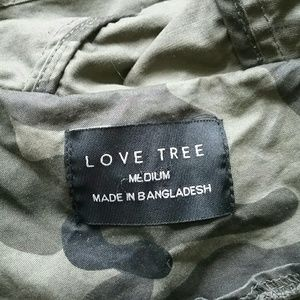 Love Tree Jackets & Coats - Love Tree Hooded Camo Military Utility Jacket
